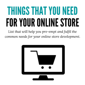 Online Store Guide